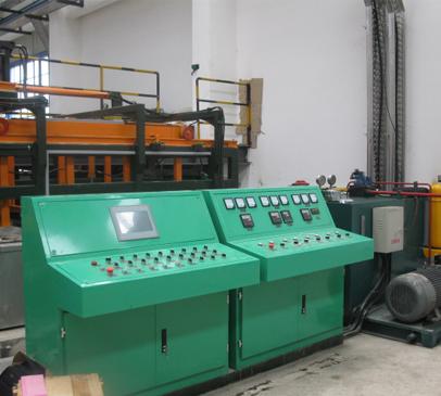 锌电解阳极导电梁自动化生产线控制柜